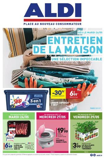 ALDI catalogue publicitaire (valable jusqu'au 01-06)