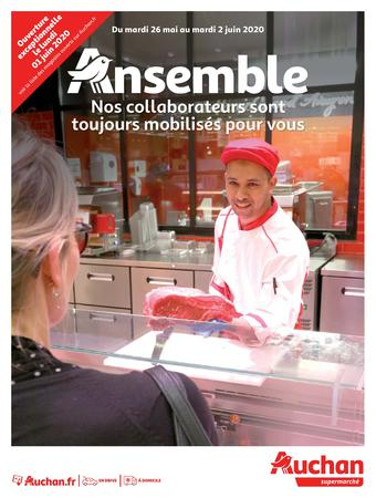 Auchan reclame folder (geldig t/m 02-06)