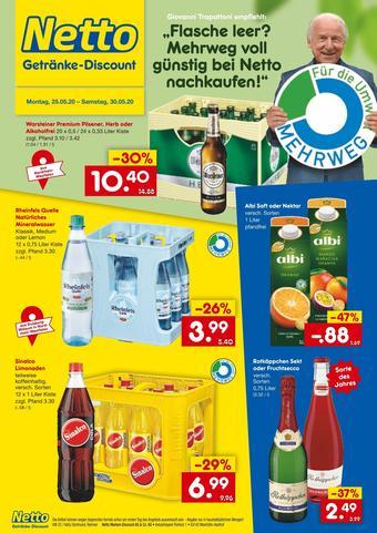Netto Getränke Discount Prospekt (bis einschl. 30-05)