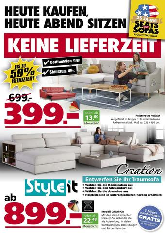 Seats and Sofas Prospekt (bis einschl. 30-05)