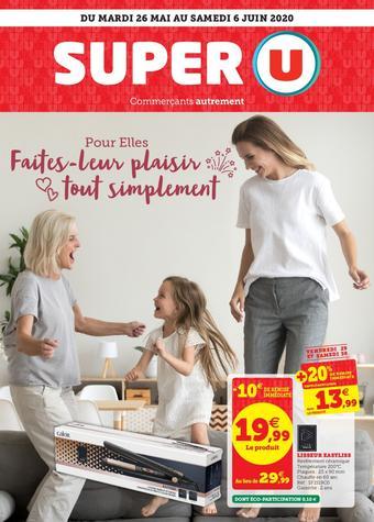 Super U catalogue publicitaire (valable jusqu'au 06-06)