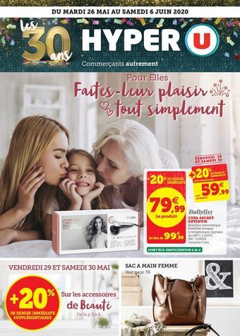 Hyper U catalogue publicitaire (valable jusqu'au 06-06)