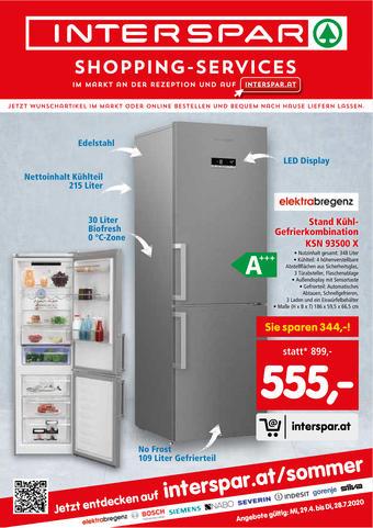 Interspar Werbeflugblatt (bis einschl. 28-07)