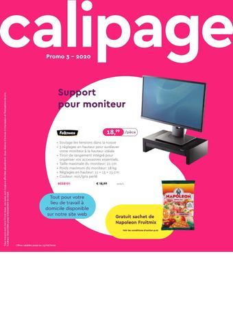 Calipage reclame folder (geldig t/m 23-08)