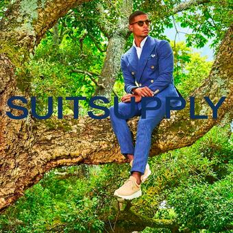 Suitsupply reclame folder (geldig t/m 31-07)