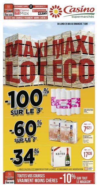 Casino Supermarchés catalogue publicitaire (valable jusqu'au 07-06)
