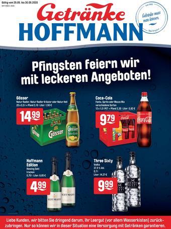 Getränke Hoffmann Prospekt (bis einschl. 30-05)