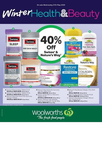 Woolworths catalogue (valid until 02-06)