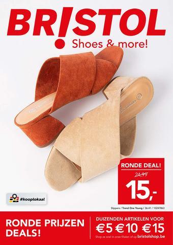 Shoe Discount reclame folder (geldig t/m 14-06)