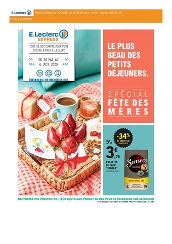 E.Leclerc Express catalogue publicitaire (valable jusqu'au 06-06)
