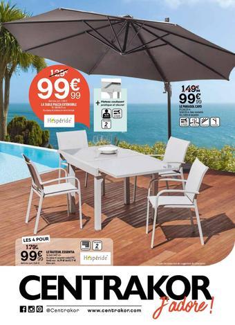 Centrakor catalogue publicitaire (valable jusqu'au 30-06)