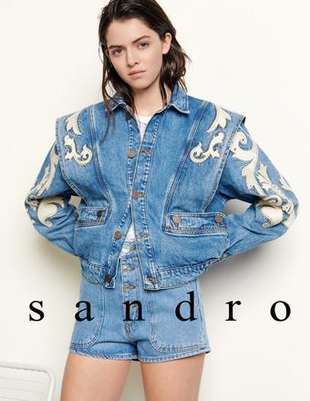 Sandro catalogue publicitaire (valable jusqu'au 25-07)