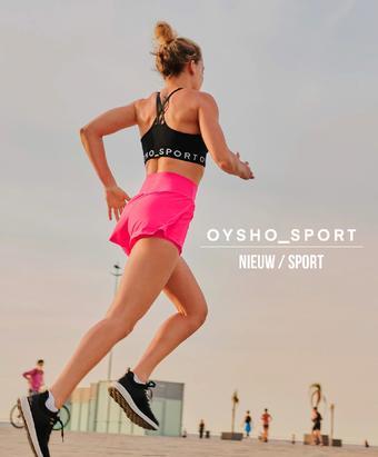 Oysho reclame folder (geldig t/m 25-07)