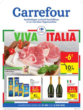 Carrefour reclame folder (geldig t/m 08-06)