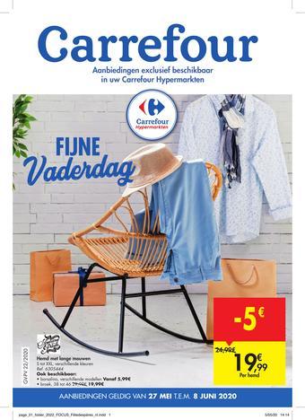 Hyper Carrefour reclame folder (geldig t/m 08-06)
