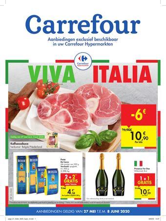 Carrefour Market reclame folder (geldig t/m 08-06)