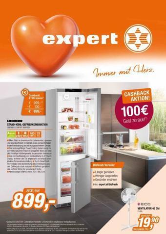 Expert Werbeflugblatt (bis einschl. 07-06)