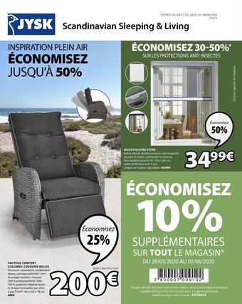 JYSK catalogue publicitaire (valable jusqu'au 08-06)