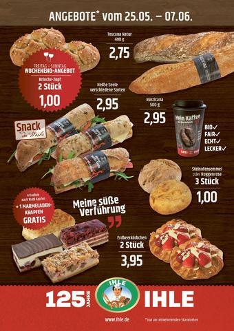 Landbäckerei Ihle Prospekt (bis einschl. 07-06)