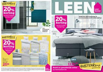 Leen Bakker reclame folder (geldig t/m 14-06)