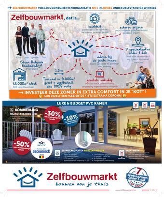 Zelfbouwmarkt reclame folder (geldig t/m 22-06)