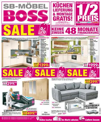 Möbel Boss Prospekt (bis einschl. 31-05)