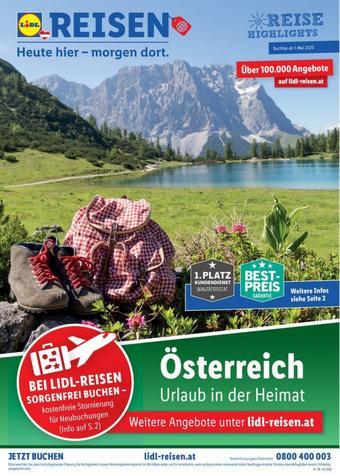 Lidl Reisen Prospekt (bis einschl. 31-05)