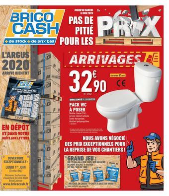 Brico Cash catalogue publicitaire (valable jusqu'au 06-06)
