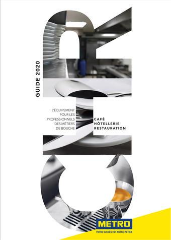 METRO catalogue publicitaire (valable jusqu'au 30-09)