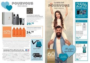 Pour Vous reclame folder (geldig t/m 21-06)