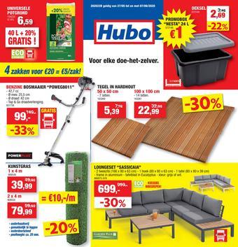 Hubo reclame folder (geldig t/m 07-06)