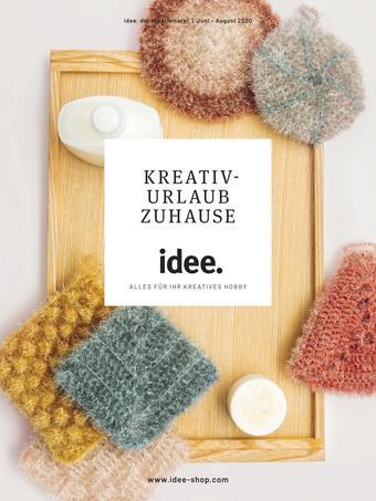Idee Creativmarkt Prospekt (bis einschl. 31-08)
