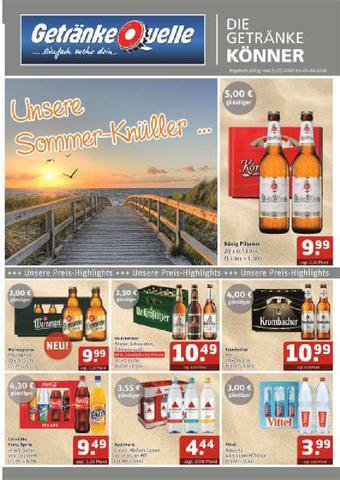 Getränke Quelle Prospekt (bis einschl. 06-06)