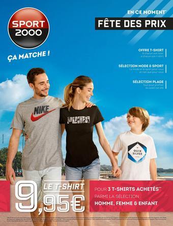 Sport 2000 catalogue publicitaire (valable jusqu'au 21-06)