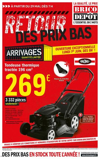 Brico Dépôt catalogue publicitaire (valable jusqu'au 11-06)