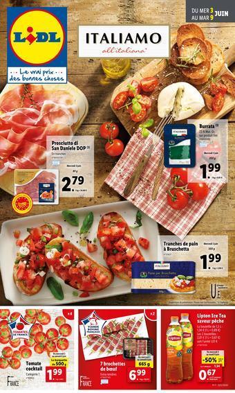 Lidl catalogue publicitaire (valable jusqu'au 09-06)