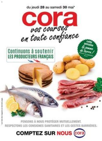 Cora catalogue publicitaire (valable jusqu'au 30-05)