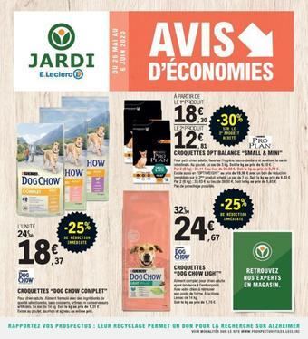 E.Leclerc Jardi catalogue publicitaire (valable jusqu'au 06-06)