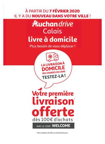 Auchan Direct catalogue publicitaire (valable jusqu'au 30-09)
