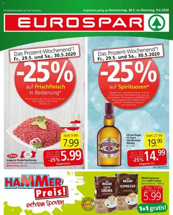 Eurospar Werbeflugblatt (bis einschl. 09-06)