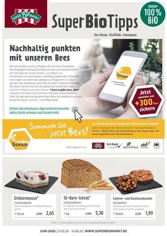 Superbiomarkt Prospekt (bis einschl. 16-06)