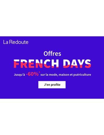 La Redoute catalogue publicitaire (valable jusqu'au 01-06)