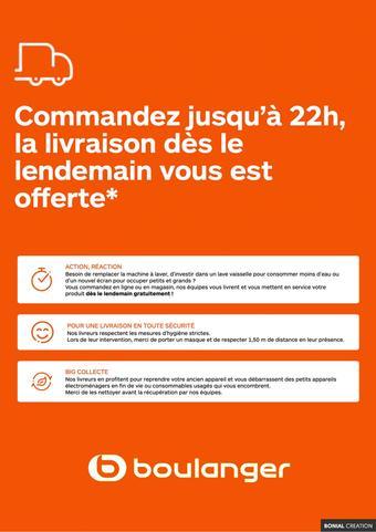 Boulanger catalogue publicitaire (valable jusqu'au 31-07)