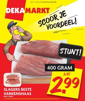 Dekamarkt reclame folder (geldig t/m 06-06)