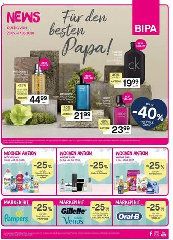 Bipa Werbeflugblatt (bis einschl. 17-06)