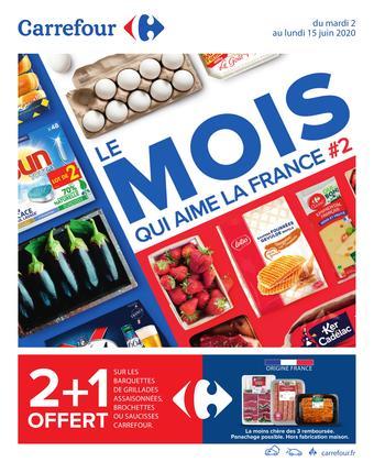 Carrefour catalogue publicitaire (valable jusqu'au 15-06)
