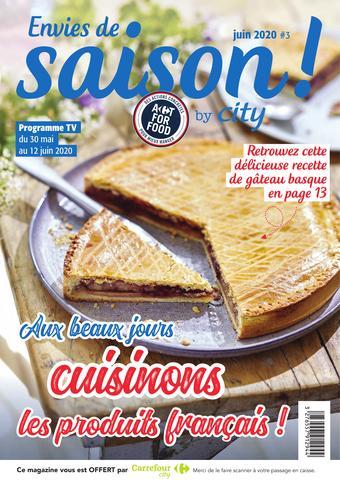 Carrefour City catalogue publicitaire (valable jusqu'au 12-06)