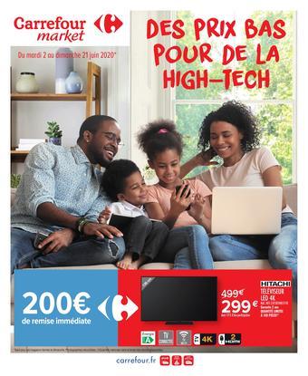 Carrefour Market catalogue publicitaire (valable jusqu'au 21-06)
