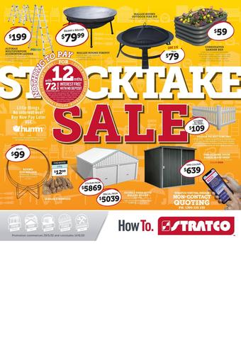 Stratco catalogue (valid until 19-06)
