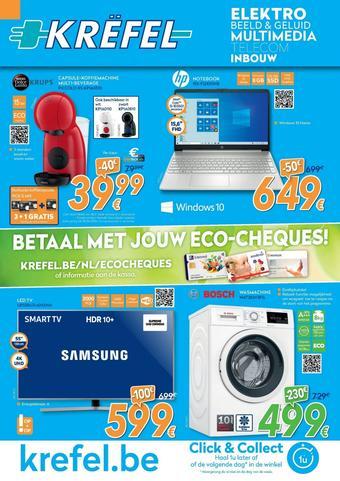 Krëfel reclame folder (geldig t/m 30-06)